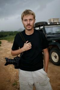 Chrsitoph Bangert in Afrika