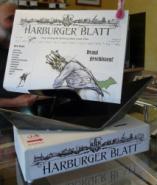 Harburger Blatt samt Aufsteller